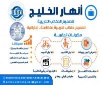 مصمم حقائب تدريبية احترافية متكاملة واحترافية
