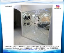 تفصيل الزجاج والمراياء حسب الطلب واسعار مناسبة&