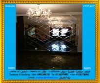تفصيل الزجاج و المرايا حسب الطلب وبأرقى المواصفات%