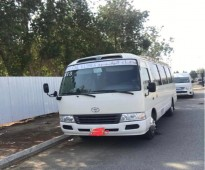 باص 30 راكب نظيف للايجار بالشهر Bus rental , very good price