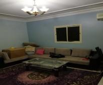 شقة للايجار اربع غرف بدون صالة في حي المونسية