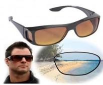 نظارة السواقة اللييلية الزجاج مريحة جدا للعين