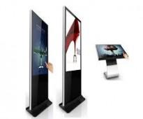 شاشة عرض اعلانات دعائية تفاعلية طولية موديل SQKS-42
