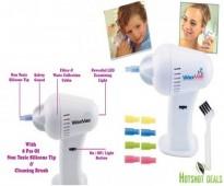 شفط و تنظيف الأذن من الشمع Wax Vac