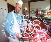 جزارين  محترفين للعمل من جنسية مغربية  عبر شركة الأسمر.