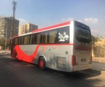 باصات سياحيه 50 راكب للايجار بارخص سعر في مصر