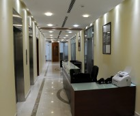 For rent offices - fully furnished from 3000 sar to 12500 sar