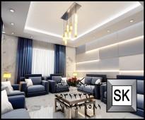 صمم ديكور منزلك بافخم الديكورات الداخلية الحديثة قثط 10 الاف ريال