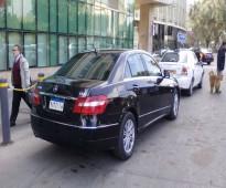 سياره مرسيدس E250موديل 2013 للإيجار بالسائق