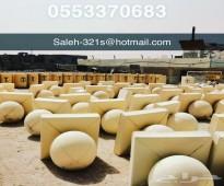 مصنع قواعد وصبات وحواجز ومصدات خرسانيه للبيع بالرياض 0553370683 مصنع ركن الأساس للمنتجات الخرسانيه في الرياض