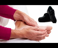 حذاء مدهش لمرضى السكرى يتوفر فيه عمق أضافى لأى بطائن طبية