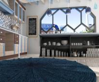 صمم ديكورمطبخك 3d باحترافية وزوق رفيع