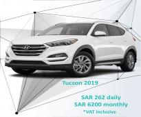 Hyundai Tucson 2019 for rent