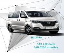 Hyundai H1 2019 for rent