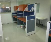 محطة عمل  workstation اثاث مكتبي