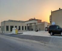 موقع بقالة مركزية بالخرج للإيجار  المساحة 430 متر حي الهدا