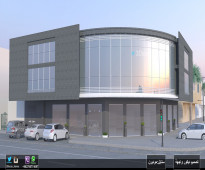 تصميم مناظير واجهات معمارية 3D