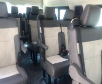 ايجار ميكروباص تويوتا هايس سياحي 14 راكب