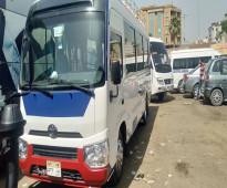 للايجار تويوتا كوستر 25 راكب ارخص سعر في مصر