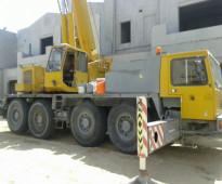 للبيع عدد 2 كرين Two Crane 70 ton and 50 ton