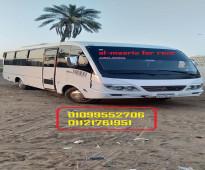 ميني باص متسوبيشي 28 راكب لرحلات السياحية