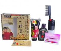 مشط ماجيك كامب السحري يعمل علي صبغ الشعر يجعل شعرك ناعم بشكل طبيعي يخفي الشعر الابيض و الشيب