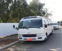 باص 30 راكب نظيف كراسى سياحية للايجار بالمشوار او بالشهر Bus Rental , For Easy and comfortable Transportation