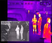 كاميرا مراقبة حرارية بالاشعة تحت الحمراء