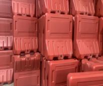 مصنع اعمال العراقة للمنتجات البلاستيكية لبيع حواجز الطرق واقماع المرورية