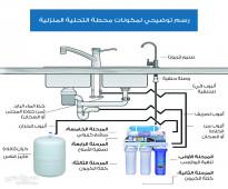 أفضل جهاز تحلية مياه منزلي نسبة الفلترة 100% والضمان شامل