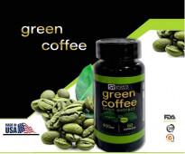 حبوب القهوة الخضراء المركزة بالقوة الرباعيه لتفتيت الدهون