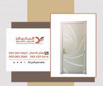 احدث تصميمات ابواب خشب للبيع في الرياض 0553075467 أبواب خارجيه للبيع بالرياض، محلات بيع ابواب خشب وحديد في الرياض