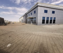 مصنع جديد (لم يتم تشغيله) بجدة -بالمنطقة الصناعية الثالثة -بالمربع الذهبي.