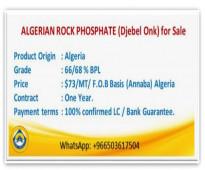 ALGERIAN ROCK PHOSPHATE (Djebel Onk)
