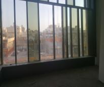 مكاتب ومساحات للايجار لاصحاب العيادات والمعاهد  على شارع التحلية