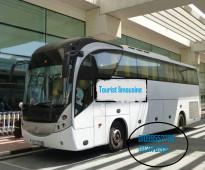اتوبيس مرسيدس 50 راكب  لرحلات السياحية واليوميا  مع تورست ليموزين