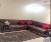 شقة للإيجار في شارع فاطمة الزهراء ، حي جرير   مؤثثة