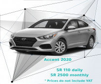 Hyundai Accent 2020 for rent