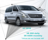 Hyundai H1 2018 for rent