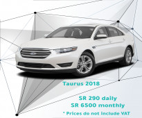 Ford Taurus 2018 for rent