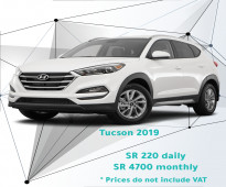 Hyundai Tucson 2019 for rent