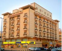 شقق فندقية للأيجار الشهري قصر لمسات بجوار مستشفى التخصصي جدة ( حي الروضة ) ( غرفتين وصالة )