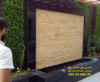 عشب صناعي جدة 0553268634 تنسيق حدائق عشب جدران