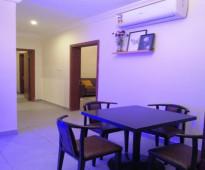 شقة بالكامل ثلاث غرف مؤثثة بالكامل ونظيفه للايجار الشهري والاسبوعي و اليومي