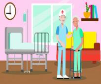 مرافق للمرضى وكبار السن