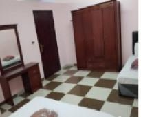 شقة غرفتين ودورتين مياه2200  ريال