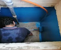عزل خزانات بالطائف النهار كلين منع تسربات المياه - تنظيف خزانات بالطائف - غسيل وتعقيم خزانات بالطائف