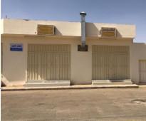 محلات للايجار ب الخرج حي الوسيطاء الشارع العام