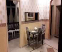 شقة مفروشة  فاخرة ونظيفة جدا شمال جدة