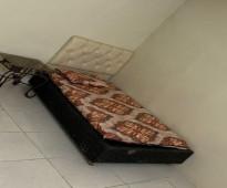 شقة غرفه وحمام للايجار بدون مطبخ مفروشه